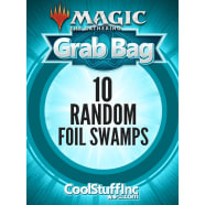 10 Random Foil Swamps - Basic Land Thumb Nail
