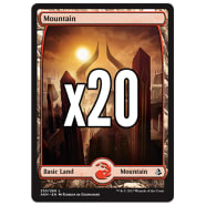 20 Amonkhet Mountain 253 - Basic Land Thumb Nail