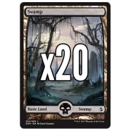 20 Amonkhet Swamp 252 - Basic Land Thumb Nail