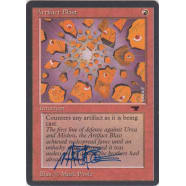 Artifact Blast Signed by Mark Poole Thumb Nail