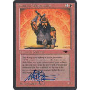 Dwarven Weaponsmith Signed by Mark Poole Thumb Nail