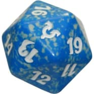 Avacyn Restored - D20 Spindown Life Counter - Blue Thumb Nail