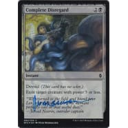 Complete Disregard FOIL Signed by Peter Mohrbacher Thumb Nail