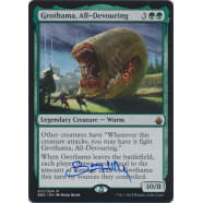 Grothama, All-Devouring Signed by Mark Behm Thumb Nail