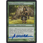 Hero of Leina Tower FOIL Signed by Aaron Miller Thumb Nail