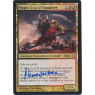 Mogis, God of Slaughter Signed by Peter Mohrbacher Thumb Nail