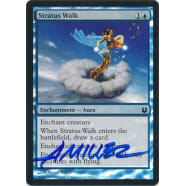 Stratus Walk FOIL Signed by Aaron Miller (Born of the Gods) Thumb Nail