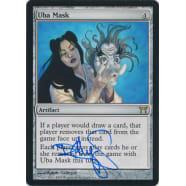 Uba Mask Signed by Randy Gallegos Thumb Nail