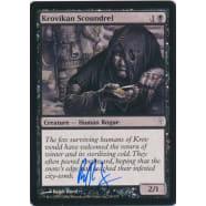 Krovikan Scoundrel Signed by Ralph Horsley Thumb Nail