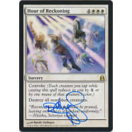 Hour of Reckoning Signed by Randy Gallegos (Commander 2011) Thumb Nail