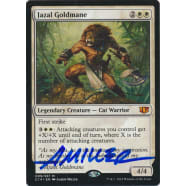 Jazal Goldmane Signed by Aaron Miller (Commander 2014 Edition) Thumb Nail