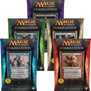 Commander (2014 Edition) - Complete Set of 5 Thumb Nail