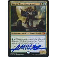 Kaseto, Orochi Archmage Signed by Aaron Miller (Commander 2015 Edition) Thumb Nail