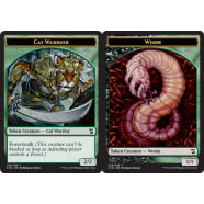 Cat Warrior (Token) // Worm (Token) Thumb Nail
