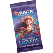 Commander Legends - Draft Booster Pack Thumb Nail