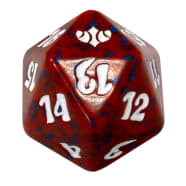 Conflux - D20 Spindown Life Counter - Red Thumb Nail