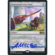 Transmogrifying Wand FOIL Signed by Aaron Miller (Core Set 2019) Thumb Nail
