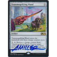Transmogrifying Wand Signed by Aaron Miller (Core Set 2019) Thumb Nail
