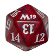 Core Set 2019 - D20 Spindown Life Counter - Red Thumb Nail