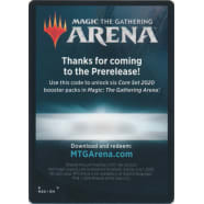 MTG Arena Code Card - Prerelease Code Card Thumb Nail