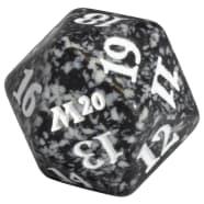 Core Set 2020 - D20 Spindown Life Counter - Black Thumb Nail