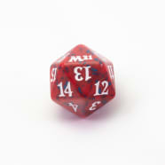 Core Set 2021 - D20 Spindown Life Counter - Red Thumb Nail