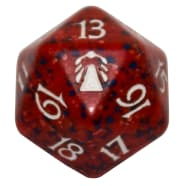 Darksteel - D20 Spindown Life Counter - Red Thumb Nail