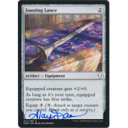Jousting Lance Signed by Alayna Danner (Dominaria) Thumb Nail