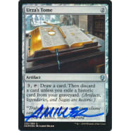 Urza's Tome FOIL Signed by Aaron Miller (Dominaria) Thumb Nail