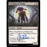 Deathbloom Thallid Signed by Mike Burns Thumb Nail