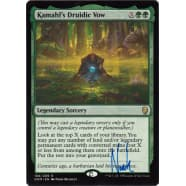 Kamahl's Druidic Vow Signed by Noah Bradley Thumb Nail
