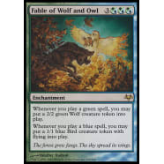 Fable of Wolf and Owl Thumb Nail