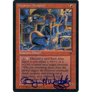 Dwarven Armorer Signed by Bryon Wackwitz Thumb Nail
