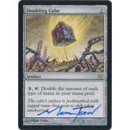 Doubling Cube Signed by Mark Tedin (Fifth Dawn) Thumb Nail