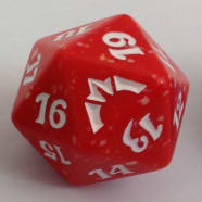 Gatecrash - D20 Spindown Life Counter - Boros Thumb Nail