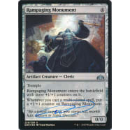 Rampaging Monument FOIL Signed by Tyler Walpole Thumb Nail