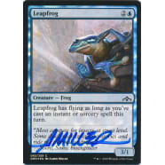 Leapfrog FOIL Signed by Aaron Miller (Guilds of Ravnica) Thumb Nail