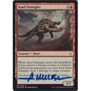 Sand Strangler FOIL Signed by Aaron Miller Thumb Nail