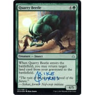 Quarry Beetle FOIL Signed by Mike Burns Thumb Nail