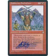 Balduvian Barbarians Signed by Mark Poole Thumb Nail