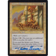 Prison Barricade FOIL Signed by Thomas Gianni Thumb Nail