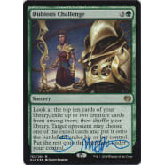 Dubious Challenge FOIL Signed by Scott Murphy Thumb Nail