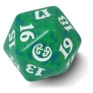 Kaladesh - D20 Spindown Life Counter - Green Thumb Nail