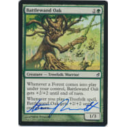 Battlewand Oak Signed by Steve Prescott Thumb Nail