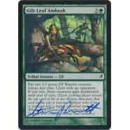 Gilt-Leaf Ambush Signed by Steve Prescott Thumb Nail