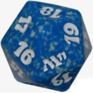 Magic 2011 - D20 Spindown Life Counter - Blue Thumb Nail