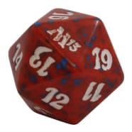 Magic 2013 - D20 Spindown Life Counter - Red Thumb Nail