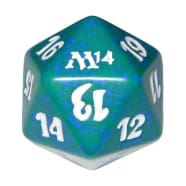 Magic 2014 - D20 Spindown Life Counter - Green Thumb Nail