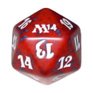Magic 2014 - D20 Spindown Life Counter - Red Thumb Nail