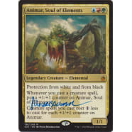 Animar, Soul of Elements Signed by Peter Mohrbacher Thumb Nail